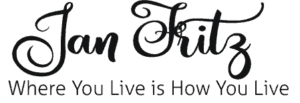 main header logo Jan Fritz where you live is how you live