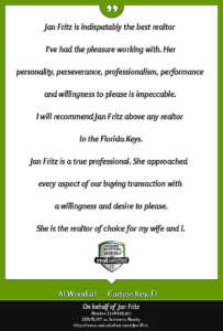 Testimonial provided by Jan Fritz's customer