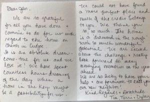 Testimonial provided by Jan Fritz's customer